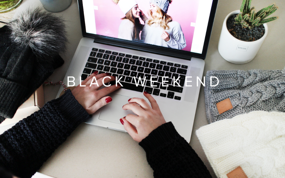 BLACK WEEKEND 15% ZNIŻKI